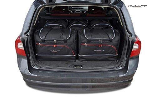 AUTO-TASCHEN MASSTASCHEN ROLLENTASCHEN VOLVO V70, III, 2008- CAR BAGS - KJUST