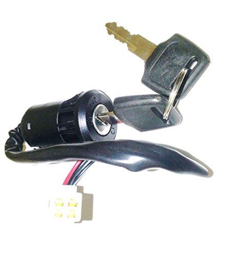Orange Imports Limited IGB01 Ignition Barrel and Keys for Quad/Dirt Bikes: