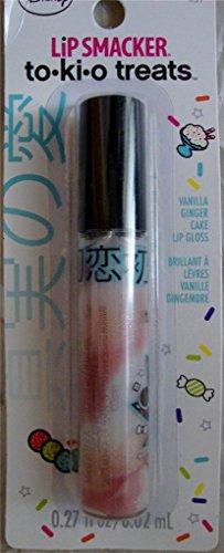 Bonne Bell Disney Lip Smacker To-ki-o Treats Lip Gloss, Vanilla Ginger Cake #657.