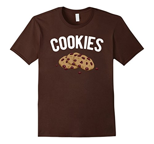 Men's Cookies & Milk - Funny Matching Pair Halloween Costume Shirt Large Brown