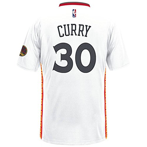Stephen Curry Golden State Warriors Adidas Pride Swingman Jersey (White)