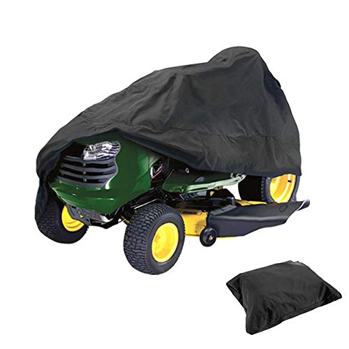 HOMEYA Lawn Mower Cover, Waterproof Riding Mower Cover