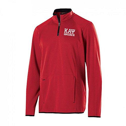 Kappa Alpha Psi Greek Letter Artillery Pullover Large Scarlet (Alpha Kappa Alpha Sweater)