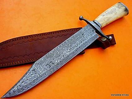 Amazon.com: DF54 – Cuchillo de supervivencia para caza con ...