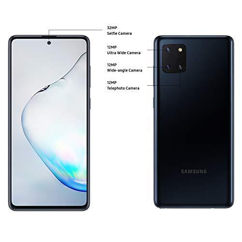 Samsung Galaxy Note10 Lite Dual SIM 128GB 8GB RAM 4G LTE (UAE Version) - Aura Black - 1 year local brand warranty