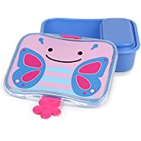 Skip Hop Zoo Little Kid Lunch Kit, Blossom Butterfly