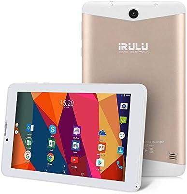iRULU 7 Pulgadas Tablet Quad Core 1.3 gigahertz Android 7.0 turrón ...