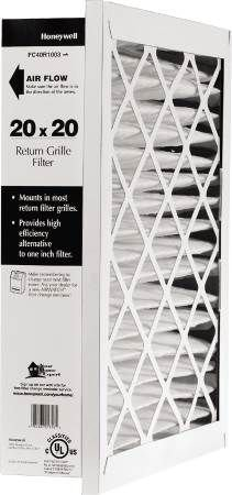 Honeywell FC40R1169 Return Grill Media Air Filter, 14