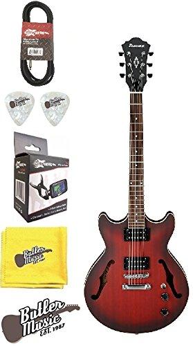 Ibanez Artcore am53srf Semi-Hollow cuerpo guitarra eléctrica w/EFFIN sintonizador y más: Amazon.es: Instrumentos musicales
