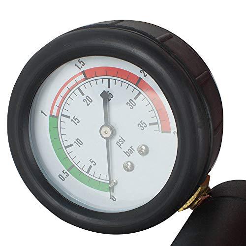 Zorvo 27 pcs Universal Radiator Pressure Tester and Vacuum Pump Type Cooling System Kit Refill Kit W/Case by zorvo (Image #7)