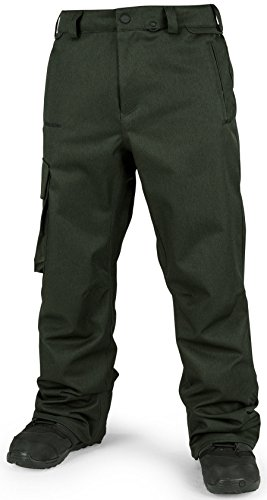 Volcom Men's Ventral Pant, Vintage Green, Medium