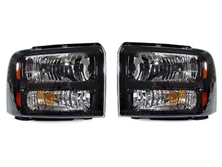 41m%2BC6U%2Bs0L._SX450_ amazon com cpw (tm) 1999 2004 ford f250 f350 superduty harley 2005 F250 HID Headlights at fashall.co