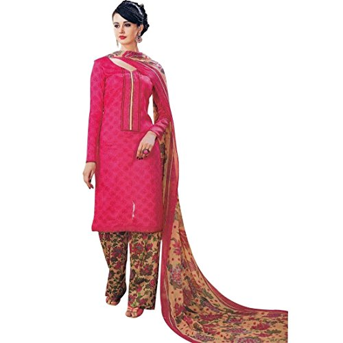 Ready Made Cotton Printed Palazzo Pants Salwar Kameez Suit Indian