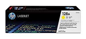 HP 128 - Cartucho de tóner Original HP 128A Amarillo para HP LaserJet Pro Color CP1525n , CP1525nw HP LaserJet Pro CM1415fn , CM1415fnw