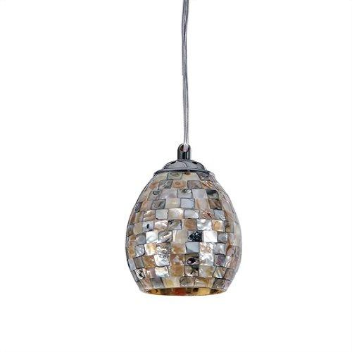 Chloe Lighting CH3B031CM04-DP1 Ravenna Mosaic 1 Light Mini Ceiling Pendant with 5-Inch Shade