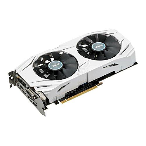 ASUS Dual GEFORCE GTX 1070 8GB OC Computer Graphics Card - PCI-E G-Sync 4K and VR Ready GPU (Renewed)