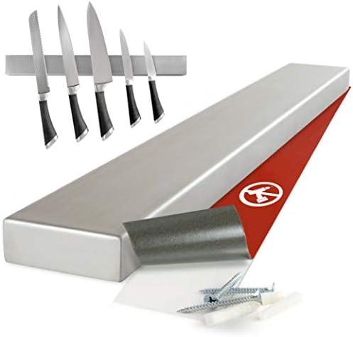 Moritz & Moritz - Porte Couteau Magnetique 40cm - Barre Aimantée Porte Couteaux - Ranger Les Couteaux Ustensiles de Cuisine, et Outils