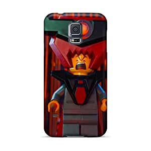 Protector Cell-phone Hard Covers For Samsung Galaxy S5 With Allow Personal Design Stylish The Lego Movie Image AnnaDubois