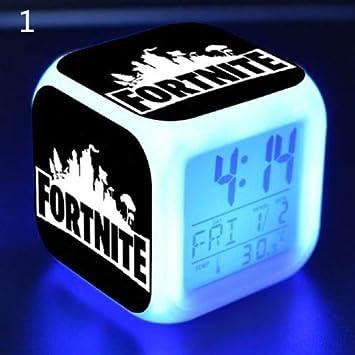 Nachtlicht Wecker fü r Fortnite Game Figures, Farbwechsel Kinder Spielzeug Geschenk 7 Zantec 20181127-qs-sc-jp-08