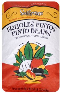 Pinto Beans - 50 Pound Bag by Honeyville