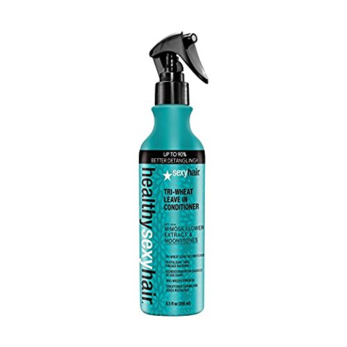 Healthy Sexy Hair Tri-Wheat Leave In Conditioner, 8.5 oz by Sexy