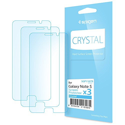 Spigen Crystal Clear Galaxy Note 5 Screen Protector with