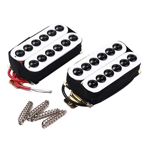 Ciyoon Double Coil Metal Electric Guitar Pickups Humbucker