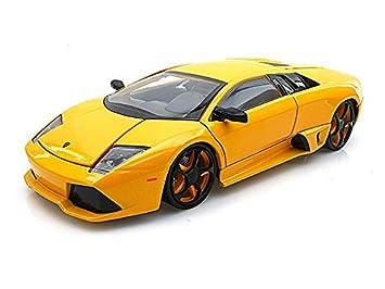 Buy Lamborghini Murcielago Lp 640 1 24 Yellow Online At Low Prices