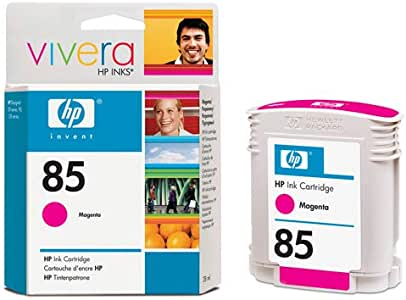HP DesignJet 130 R - Original HP C9426A / Nr. 85 - Magenta Ink Cartridge - 28 ml: Amazon.es: Oficina y papelería
