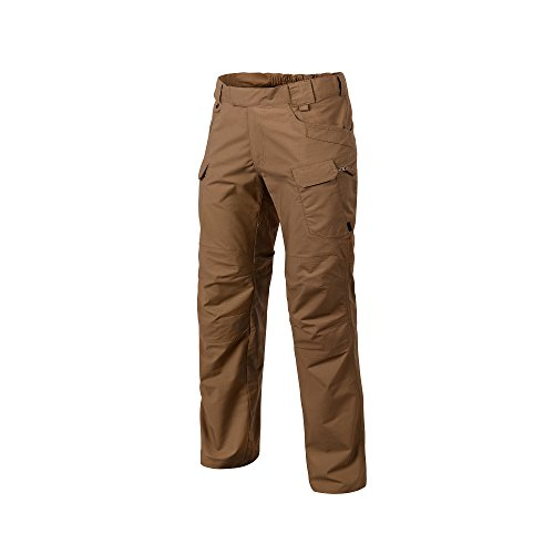 Helikon-Tex Urban Line, UTP Urban Tactical Pants Ripstop Mud Brown, Military Ripstop Cargo Style, Men's Waist 32 Length 34 (Pants Camo Cheap Hunting)