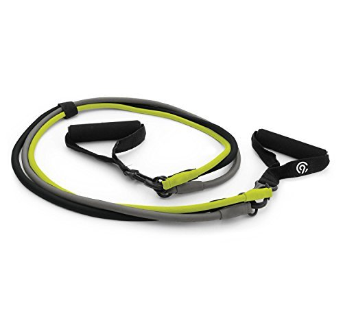 Interchangeable Exercise Resistance Band 3pk - Light, Medium
