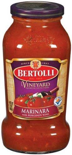 Tomato Sauce Bertolli (Bertolli Sauce Marinara with Burgundy Wine 24 Oz (Pack of 3))