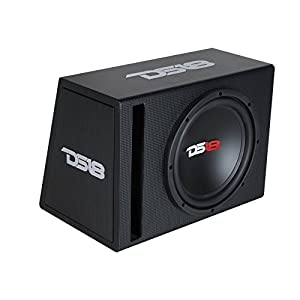 "DS18 BPX110A 600 Watts Complete Bass Package with 10"" Sub MDF Enclosure"