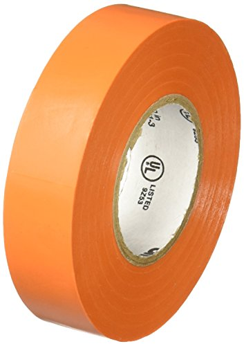 Temflex Vinyl Electrical Tape (3M Temflex 1700C Vinyl General Use Electrical Tape, 0 to 180 Degree C, 1000 mV Dielectric Strength, 66' Length x 3/4