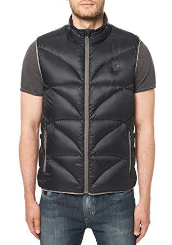 (Buffalo David Bitton Men's Jadan Nylon Full Zip Quilted Fashion Puffer Vest, Cannon Medium )