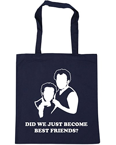 42cm Shopping litres Friends Just 10 quote Navy Did Become Beach HippoWarehouse movie x38cm Tote We Best Gym French Bag qOaXywz