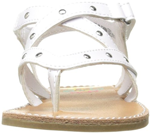 Pictures of Rachel Shoes Girls' Lil Panama Sandal White 6