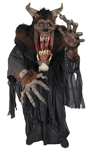 Demon Beast Creature Reacher Deluxe Oversized Mask and Costume -