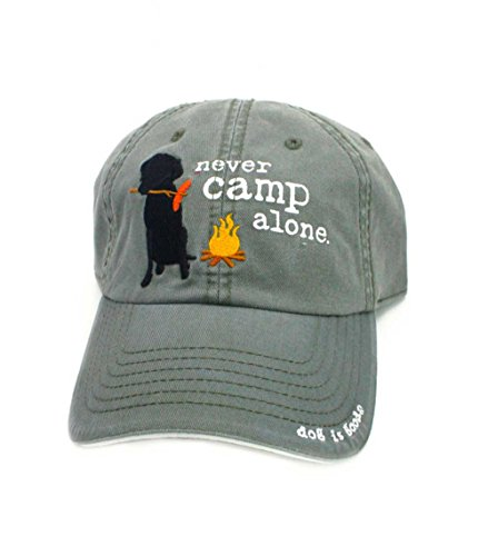 (Dog is Good Unisex Hat: Never Camp Alone )