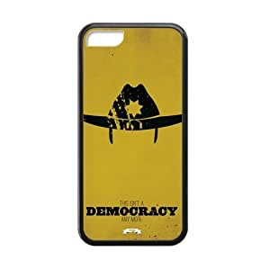 Generic The Walking Dead Cell Phone Hard Case for iphone 5c iphone 5c Plastic & TPU (Laser Technology)