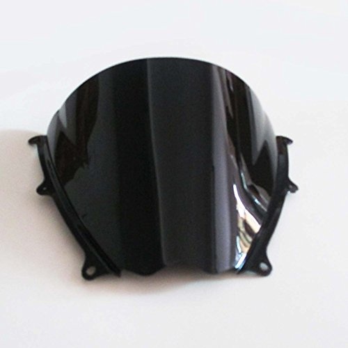UXOXAS Black Motorcle Windshield Wind Screen for Suzuki GSXR1000 GSXR 1000 2007 2008 Brand New ()