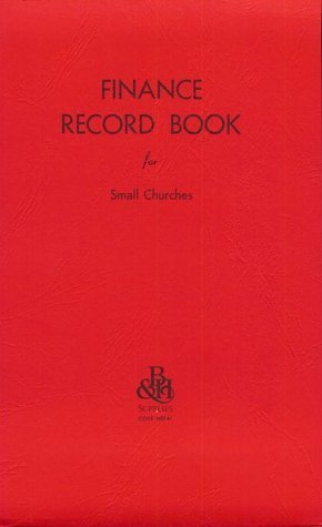 Finance-Record Book For Small Churches by Broadman Holman