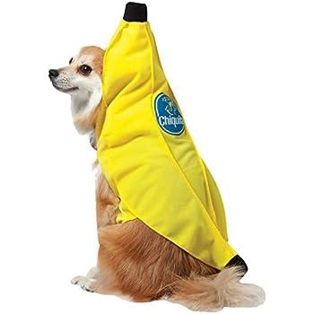 uhc chiquita banana tunic funny theme fancy dress halloween pet dog costume xl