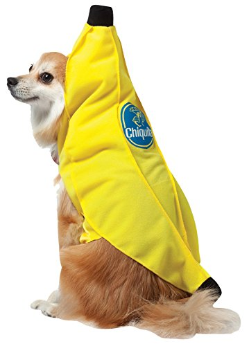 Chiquita Banana Tunic Funny Theme Fancy Dress Halloween Pet Dog Costume, XL (Sorts Banana)