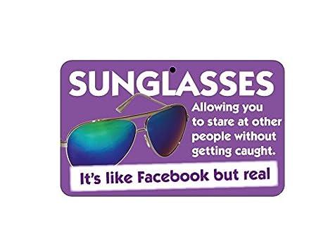 Diseño de con texto en inglés - Gafas de sol: Como Facebook ...
