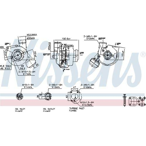 Nissens 93245 Turbo Charger: