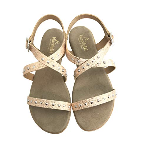 Sandalo Donna Pelle Sandalo Basso Pelle Donna OddSqw