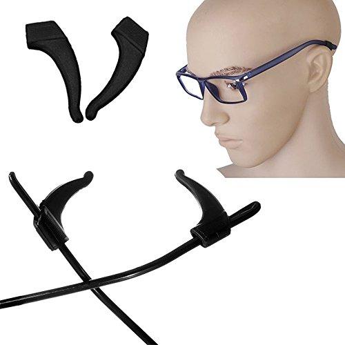 Honmofun Lite Eyeglass Holder Eyeglass Stand Eyeglass Nose Pads Eyeglass Frame Holder Eyeglass Repair Kit Earring Hooks Eyewear Sunglasses Tip Sports Retainer Hook - Nose To How Pads Glasses Adjust