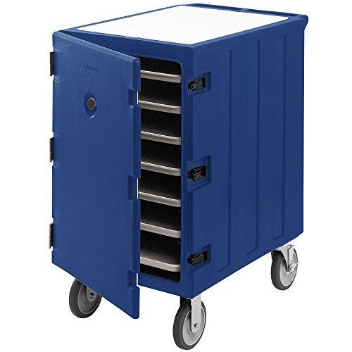 Cambro Camcart 1826LTC3186 Navy Blue Mobile Cart for 18
