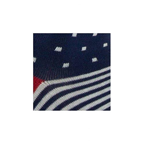 Bleu Achile Sidonie chaussettes Mi En Coton Nuit Modèle CCqfzU